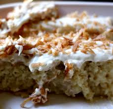 coconut tres leches cake u2013 bees knees recipes
