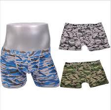 sale 2015 mens boxers camouflage print cotton mens