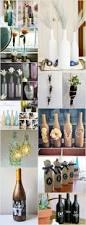 Diy Wine Bottle Vases Creative Diy Wine Bottle Craft Ideas Recycled Things