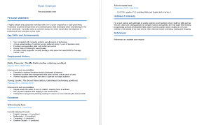 Hobbies In Cv For Freshers Please Help What U0027s Wrong With My Cv The Student Room