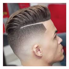 mens short hairstyles for fine hair with modern pompadour with