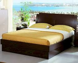 Contemporary Bedroom Sets Made In Italy Made In Italy Wenge Finish Storage Bed 44b5812