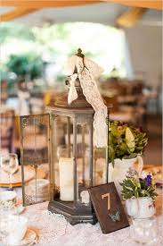 Shabby Chic Wedding Centerpieces by Vintage And Shabby Table Decor And Table Number Lantern Wedding