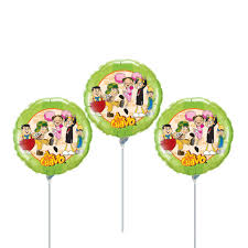 Balloons On Sticks Centerpiece by Fast Ship El Chavo Del Ocho Birthday Balloons Cup And Stick