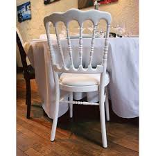 chaise napol on chaise napoleon chaise napoleon noir et galette blanche