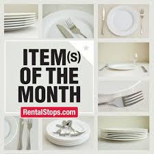 tableware rental november s item s of the month tableware for rental stop