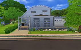 Modern Barn House Sims 4 Modern Barn House Album On Imgur