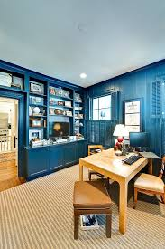 Eclectic House Decor - 10 eclectic home office ideas in cheerful blue