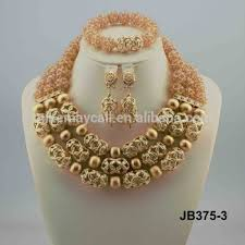 african wedding bead necklace images Jb375 3 perfect wedding beads bridal jewelry sets nigerian jpg