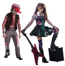 halloween costumes zombies rock u0026 roll zombies kids fancy dress halloween boys girls