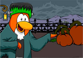 Happy Halloween Animated Happy Halloween Postcard Club Penguin Wiki Fandom Powered By Wikia