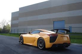 lexus lfa yellow lexus delivers europe u0027s first lfa with a nürburgring package to a