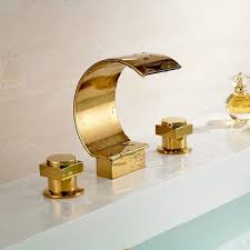 bathroom sink gold plated bathroom sink faucets copper plated
