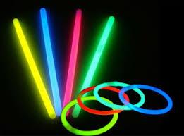 glow stick fun in music