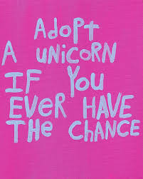 quote art maker online word art painting pink unicorn nayarts 50 00 via etsy