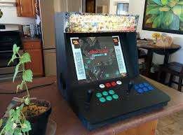 make a bartop video arcade from an old pc make