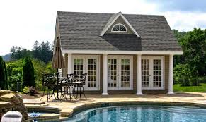 pool houses cabanas pool sheds u0026 pool side bars homestead