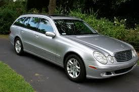 mercedes e320 wagon 2004 2004 mercedes e class wagon reviews msrp ratings