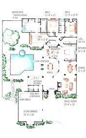 Florida Cottage House Plans William Poole Home Plans Pool House Plans With Living Quarters