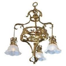 Art Nouveau Lighting Chandelier Art Nouveau Lamp Post Detail Gaudi And City