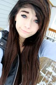Emo Hairstyles For Girls With Medium Hair by 19 Best Emo Hair Images On Pinterest Hairstyles Emo Scene Hair