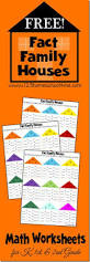 free fact family math worksheets for kids these are a fun way for