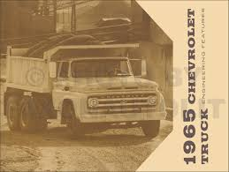 1965 chevrolet truck owner u0027s manual reprint pickup suburban p chassis