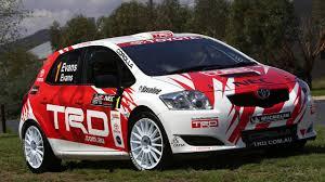 toyota auto company toyota yaris wrc car planned racing news