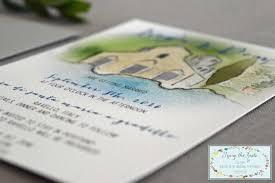 watercolor destination wedding suite