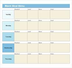21 blank menus psd vector eps