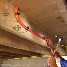 plumbing with pex tubing family handyman