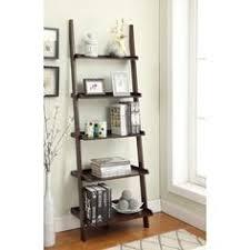 Tiered Bookshelf Crosley Furniture Landon Ladder Bookshelf Ladder Bookshelf And