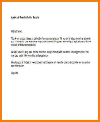 Rejection Letter To Candidate 7 candidate rejection letter sle free invoice letter