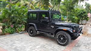 mahindra thar hard top interior fibre smith