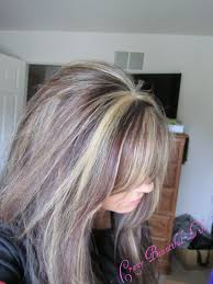 highlights for grey hair pictures glitter glue and paint new do