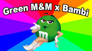 Listen To Me Meme - green m m and bambi ps2 game meme the origin of now listen to me