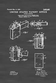 zippo lighter patent decor patent print lighter patent