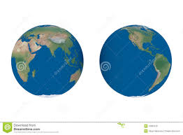 Eastern World Map by Physical Relief Map Eastern Asia Stock Illustration Image 40027089