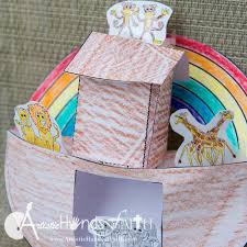 noah u0027s ark bible lesson u0026 craft