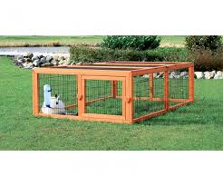 clever trixie outdoor run then mesh cover large rabbit cages