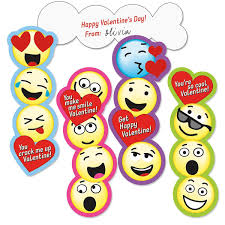 valentines for kids emoji bookmark kids valentines current catalog