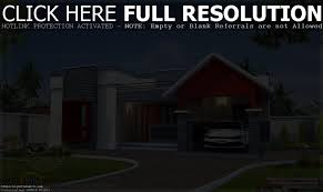 House Plans Single Story Apartments Modern Ground Floor House Plans Modern House Plans