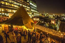 halla of hoxton winter rooftop in shoreditch londres