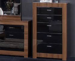 High Gloss Bedroom Furniture by Bedroom Furniture Black Gloss And Walnut Home Decor U0026 Interior