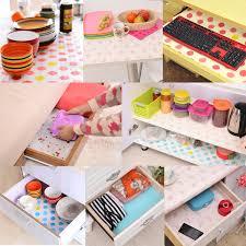 wallpaper u0026 accessories contact paper color dot drawer liner mat