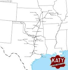 Katy Trail Dallas Map by The Missouri Kansas Texas Railroad Was A Southern Midwest Line