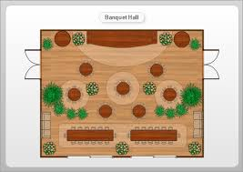 Wedding Reception Floor Plan Template Banquet Hall Plan Software