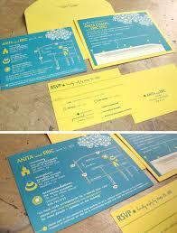 Abbreviation Of Rsvp In Invitation Card Blue U2013 Papercake Designs