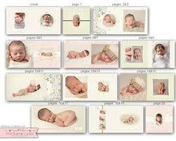baby album baby album template for photographers 0721 fa
