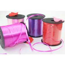 plastic ribbon 250 yards balloon ribbon plastic roll for crafts wedding birthday